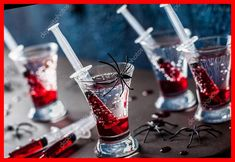 creepy halloween party ideas Halloween Party Cocktails