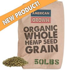 Order Your Raw Organic Hemp Seed Grain to start benefits from this seed today! Hemp Protein Powder, Organic Hemp Seeds, Hemp Hearts, Essential Fatty Acids, Eat Right, Sprouts, Grains, Snack Recipes, Healthy
