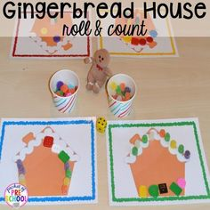 Gingerbread Centers and Activities for Gingerbread Week (Freebies too) – Pocket of Preschool – The Dabbling Speechie- Speech Therapy Ideas & Activities – art therapy activities Gingerbread Man Activities, Gingerbread Crafts, Holiday Activities, Holiday Crafts, Gingerbread Men, Christmas Themes, Kids Christmas, Hansel Y Gretel, Math Writing