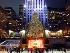 Travel Channel unwraps the Christmas magic of NYC by taking you ice skating in Bryant Park, shopping on 5th Avenue, sightseeing to gaze at the famous Christmas tree at Rockefeller Center and much more!