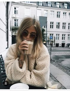 Soft cozy shearling top.