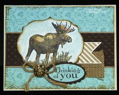 stampin up walk in the wild | CASE'd this card from Julie Gearinger's post on SCS: