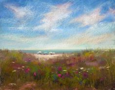 Painting My World: Pastel Demo on Canson Paper...New England Summer