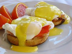 Love my Alaskan King Crab Eggs Benedict..Emil Vinberg