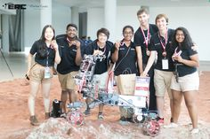 Printed Mars Rover Parts for the McGill University Robotics Team, Winning Place at the European Rover Challenge! 3d Prints, Robotics, Mars, University, Challenges, Printing, March, Stamping, Community College