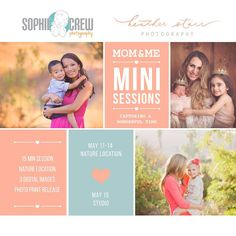 Mother's Day Mini Sessions | Mommy & Me | San Diego Photo Session