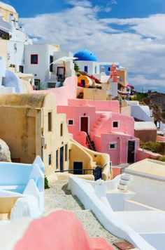 Santorini, Greece - Always wanted to go here. I will someday. End of Story.