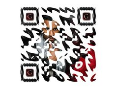 40 Gorgeous QR Code Artworks That Rock - Hongkiat Qr Codes, Rock, Creative, Artist, Projects, Cards, Character, Inspiration, Artworks