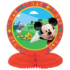 """10"""" Disney Mickey Mouse Clubhouse Party Table Centrepiece Decoration"""