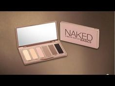 HOW TO VIDEO: Urban Decay's Naked Basics Palette #Sephora - I love my original naked palette however :)