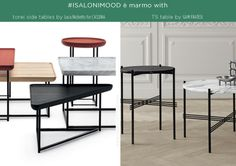 #isaloni e #fuorisalone 2014 milano design week la tendenza è marmo cassina gam fratesi tavolini side-table