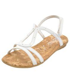 "Kenneth Cole Girls ""Along we Keep"" Sandals (Toddler Sizes 5 – 12) - CookiesKids.com"
