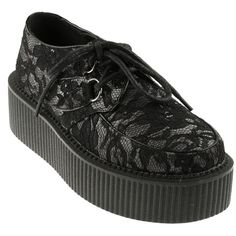 Lace Gothic Creepers - Creepers - Shoes/Boots - Women
