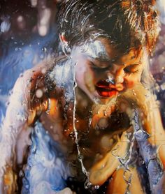 Lógi Cult: Marilyn Minter Marilyn Minter, Learn To Draw, Learn Drawing, Photo D Art, Cool Photos, Amazing Photos, Underwater Photography, Figure Painting, Abstract Landscape