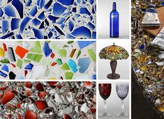 Yet another brilliant way of blending sustainability with style, these recycled glass countertops do more than simply reuse materials (being composed of 85% glass) – they also tell the story of their origins, from beer bottles to safety glass. The results are of course always unique one-of-a-kind designs.
