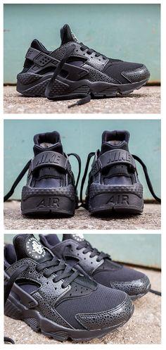 Nike WMNS Air Huarache: Black