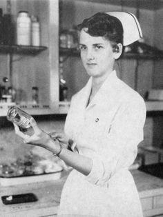 Vintage Nurse Sylvia Spaulding McCormack from Colorado Major:
