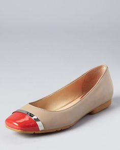 Calvin Klein Flats - Pash Cap Toe   $99.00