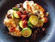 Chicken with Zucchini Recipe by Chef Ara - This is a one pan dish that you can make when you are camping.
