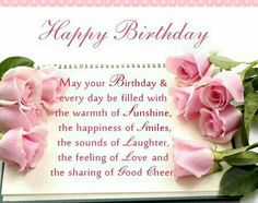 Happy Birthday Wishes For Sister, Birthday Messages For Sister, Birthday Quotes For Sister Beautiful Birthday Quotes, Happy Birthday Qoutes, Birthday Verses, Happy Birthday Wishes Cards, Birthday Wishes For Sister, Happy Birthday Brother, Happy Birthday Flower, Birthday Blessings, Birthday Wishes Quotes