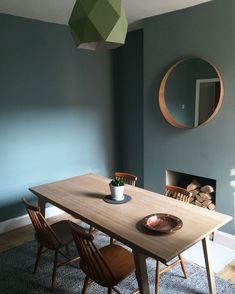 Dining rooms established the stage for many unique events, so why not develop a deserving background? Find motivation with these bold dining room paint colors ideas. #diningroom#paint#colors#ideas#kitchen#island#cabinet