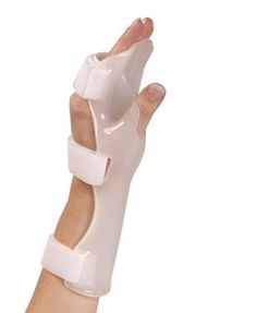 wrist  splints | ... Extremity-Wrist and Hand-Static Wrist-Hand-Finger Positioning Splint