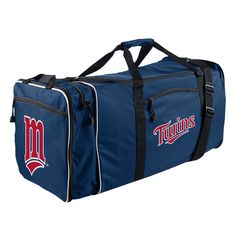 Minnesota Twins Steal Duffel Bag Indiana Pacers 318fdd3a9a21c