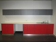 Laminated Commercial Kitchenette With Stainless Kicks Reception Counter, Entry Foyer, Kitchenette, Joinery, Kicks, Commercial, Kitchen Cabinets, Restaurant, Fit