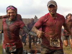 Fun date idea: Participate in a charity mud race with your fiancé or bridesmaids!