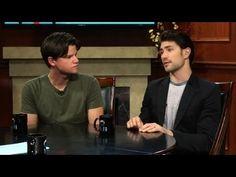 Preview of Matt Dallas and Steven Grayhm On Larry King supporting www.ThunderRoadFilm.com