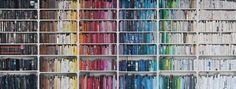 Bookshelf wallpaper by Wall Paper Direct