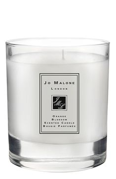 Such a lovely aroma for home | Jo Malone orange blossom scented candle.