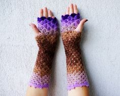 These Dragon Gloves With Crochet Scales Will Protect You When Winter Comes | Bored Panda - LoveItSoMuch.com