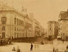 Madrid Puerta del Sol, old picture