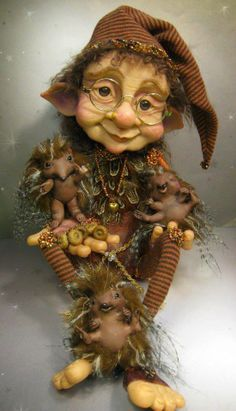 'I know the password said granny goblin, it's hedgehog isn't it' but she was guessing too they were all just bluffing, guessing, hoping they might unlock some serendipity on their way...