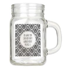 Do What You Can Mason Jar - home gifts ideas decor special unique custom individual customized individualized