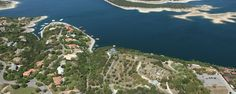Aerial View of 2600: A Luxury Community on Lake Travis, TX » The Property