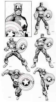 Captain America by Mike Zeck  (