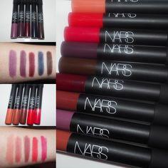 #narsissist Velvet #Matte Lip Pencil #swatch