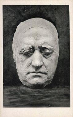 Gezichtsmasker Goethe 1807