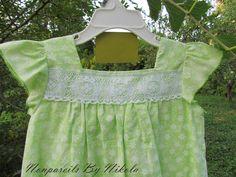 Apple green Sundress