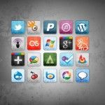 20 Free High Quality Social Media Icon Sets for your Website in 2013