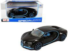 Bugatti Chiron 42 Black Limited Edition Diecast Car #Unbranded #Bugatti Jaguar Xk, Jaguar E Type, New Sports Cars, Sport Cars, Bugatti Models, Car Racer, Bugatti Chiron, Rubber Tires, Diecast Model Cars