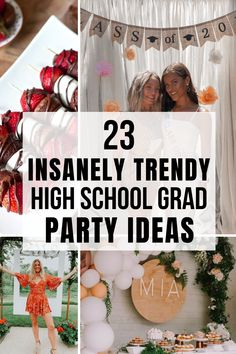These high school graduation party ideas are great. My daughter and I will definitely be using some for her grad party coming up.