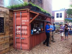 shipping container bar | Recent Photos The Commons 20under20 Galleries World Map App Garden ...