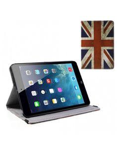 Δερμάτινη Θήκη Βιβλίο με Βάση Στήριξης για iPad Mini / iPad Mini 2 - Μοτίβο Ηνωμένο Βασίλειο