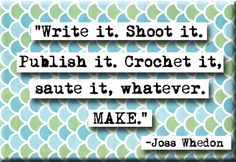 Joss Whedon Quote Magnet no217 by chicalookate on Etsy