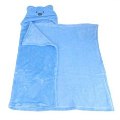 Children Animal Cartoon Hooded Bath Towel/ Blanket
