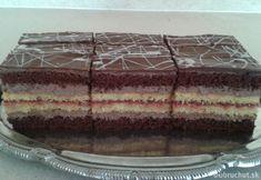 Pralinkové rezy Czech Recipes, Ethnic Recipes, Tiramisu, Cake, Food, Food Cakes, Eten, Cakes, Tiramisu Cake