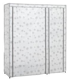 Dulap DAMHUS 149x174 cm alb/gri | JYSK